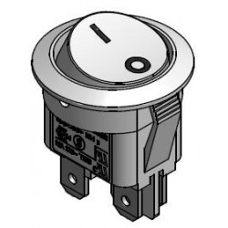 Interrupteur à bascule blanc