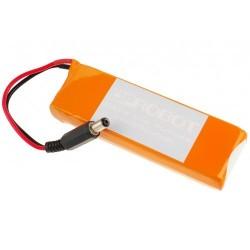 Batterie Lipo 7.4 V - 2200 mAh - Connecteur jack Arduino