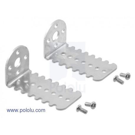 Paire de support de moteur Pololu 25D