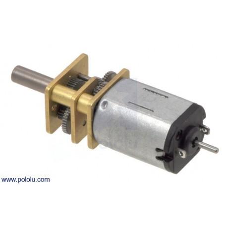 Micro-moteur moyenne puissance à courant continu - Réducteur 75:1