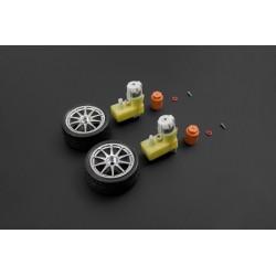 Paire roues / moteurs D65